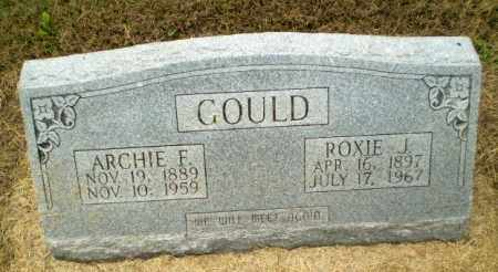 GOULD, ARCHIE F - Clay County, Arkansas | ARCHIE F GOULD - Arkansas Gravestone Photos