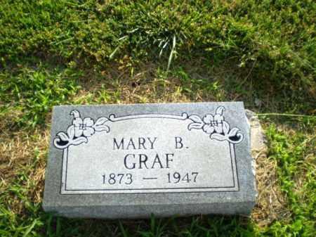 GRAF, MARY B - Clay County, Arkansas | MARY B GRAF - Arkansas Gravestone Photos