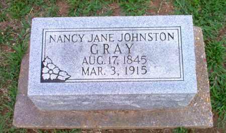 JOHNSTON GRAY, NANCY JANE - Clay County, Arkansas | NANCY JANE JOHNSTON GRAY - Arkansas Gravestone Photos