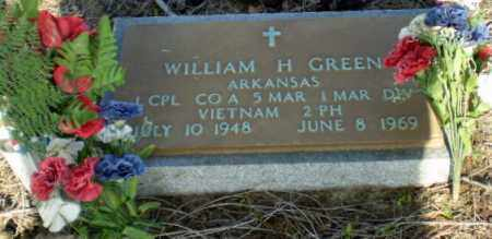 GREEN (VETERAN VIET, KIA), WILLIAM HERSCHEL - Clay County, Arkansas | WILLIAM HERSCHEL GREEN (VETERAN VIET, KIA) - Arkansas Gravestone Photos