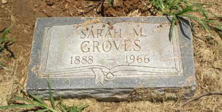 GROVES, SARAH M - Clay County, Arkansas | SARAH M GROVES - Arkansas Gravestone Photos