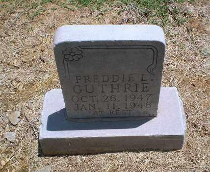 GUTHRIE, FREDDIE L - Clay County, Arkansas | FREDDIE L GUTHRIE - Arkansas Gravestone Photos