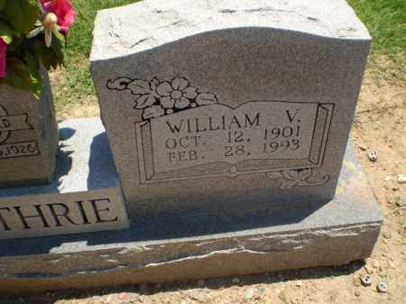 GUTHRIE, WILLIAM V - Clay County, Arkansas | WILLIAM V GUTHRIE - Arkansas Gravestone Photos