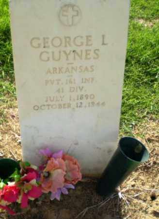 GUYNES  (VETERAN), GEORGE L - Clay County, Arkansas | GEORGE L GUYNES  (VETERAN) - Arkansas Gravestone Photos