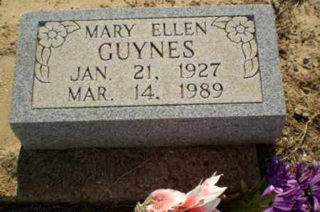 GUYNES, MARY ELLEN - Clay County, Arkansas | MARY ELLEN GUYNES - Arkansas Gravestone Photos