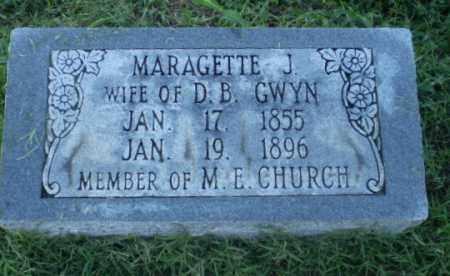 GWYN, MARAGETTE J - Clay County, Arkansas   MARAGETTE J GWYN - Arkansas Gravestone Photos