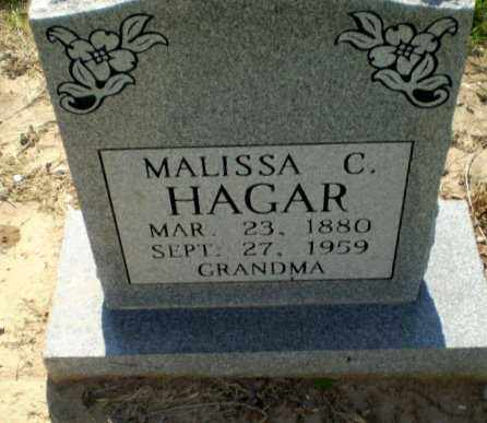 HAGAR, MALISSA C - Clay County, Arkansas | MALISSA C HAGAR - Arkansas Gravestone Photos