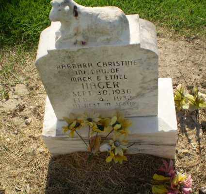 HAGER, BARBARA CHRISTINE - Clay County, Arkansas | BARBARA CHRISTINE HAGER - Arkansas Gravestone Photos