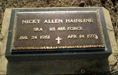 HAINLINE (VETERAN), NICKY - Clay County, Arkansas | NICKY HAINLINE (VETERAN) - Arkansas Gravestone Photos