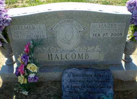 HALCOMB, DELMER E - Clay County, Arkansas | DELMER E HALCOMB - Arkansas Gravestone Photos