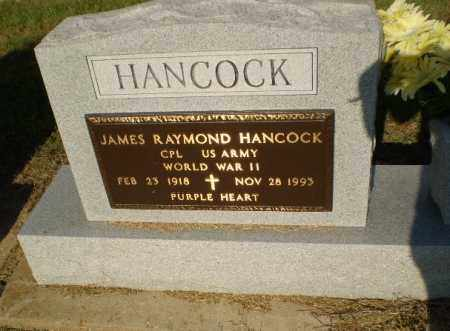 HANCOCK  (VETERAN WWII), JAMES RAYMOND - Clay County, Arkansas | JAMES RAYMOND HANCOCK  (VETERAN WWII) - Arkansas Gravestone Photos
