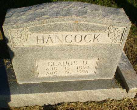 HANCOCK, CLAUDE O - Clay County, Arkansas | CLAUDE O HANCOCK - Arkansas Gravestone Photos