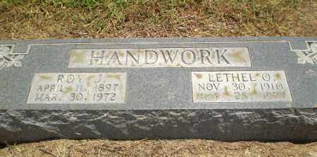HANDWORK, LETHEL O - Clay County, Arkansas | LETHEL O HANDWORK - Arkansas Gravestone Photos