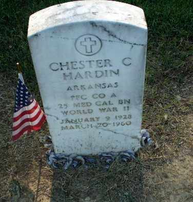 HARDIN (VETERAN WWII), CHESTER C - Clay County, Arkansas | CHESTER C HARDIN (VETERAN WWII) - Arkansas Gravestone Photos