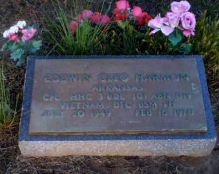 HARMON   (VETERAN VIET, DOW), EDEWIN CLEO - Clay County, Arkansas | EDEWIN CLEO HARMON   (VETERAN VIET, DOW) - Arkansas Gravestone Photos