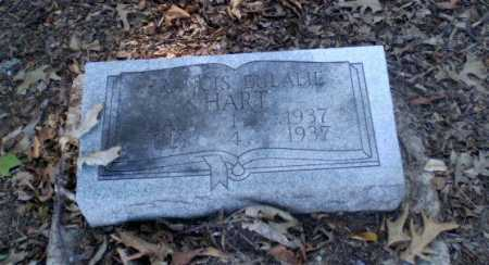 HART, FRANCIS EULALIE - Clay County, Arkansas | FRANCIS EULALIE HART - Arkansas Gravestone Photos