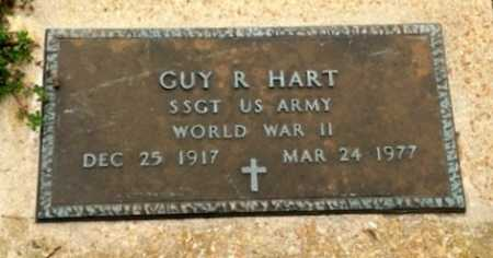 HART  (VETERAN WWII), GUY R. - Clay County, Arkansas | GUY R. HART  (VETERAN WWII) - Arkansas Gravestone Photos