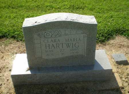 HARTWIG, CLARA MARIA - Clay County, Arkansas | CLARA MARIA HARTWIG - Arkansas Gravestone Photos