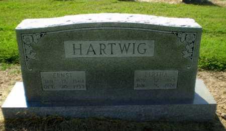 HARTWIG, ERNST - Clay County, Arkansas | ERNST HARTWIG - Arkansas Gravestone Photos