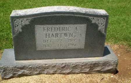 HARTWIG, FREDERIC A - Clay County, Arkansas | FREDERIC A HARTWIG - Arkansas Gravestone Photos