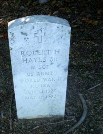 HAYES   (VETERAN 2 WARS), ROBERT H - Clay County, Arkansas | ROBERT H HAYES   (VETERAN 2 WARS) - Arkansas Gravestone Photos