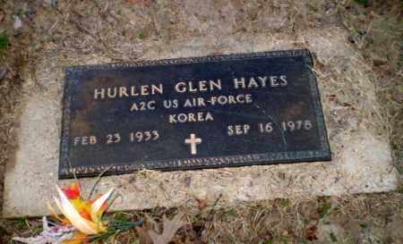 HAYES  (VETERAN KOR), HURLEN GLEN - Clay County, Arkansas | HURLEN GLEN HAYES  (VETERAN KOR) - Arkansas Gravestone Photos