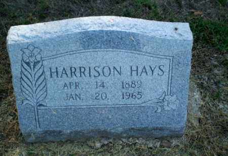HAYS, HARRISON - Clay County, Arkansas | HARRISON HAYS - Arkansas Gravestone Photos