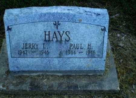 HAYS, PAUL H - Clay County, Arkansas | PAUL H HAYS - Arkansas Gravestone Photos