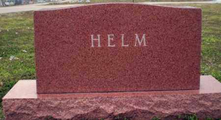 HELM FAMILY, MONUMENT - Clay County, Arkansas | MONUMENT HELM FAMILY - Arkansas Gravestone Photos