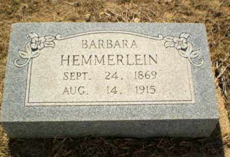 HEMMERLEIN, BARBARA - Clay County, Arkansas | BARBARA HEMMERLEIN - Arkansas Gravestone Photos