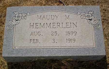 HEMMERLEIN, MAUDY M - Clay County, Arkansas | MAUDY M HEMMERLEIN - Arkansas Gravestone Photos