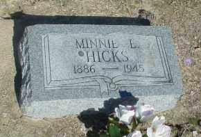 JENKINS HICKS, MINNIE ETHEL - Clay County, Arkansas | MINNIE ETHEL JENKINS HICKS - Arkansas Gravestone Photos