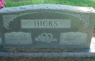 HICKS, SHEARL E. - Clay County, Arkansas | SHEARL E. HICKS - Arkansas Gravestone Photos