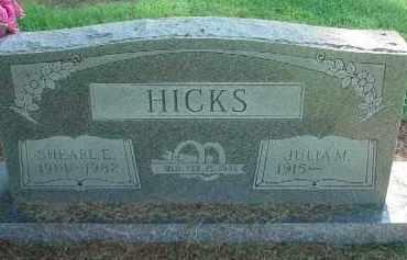 HICKS, SHEARL E. - Clay County, Arkansas | SHEARL E. HICKS - Arkansas Gravestone Photos