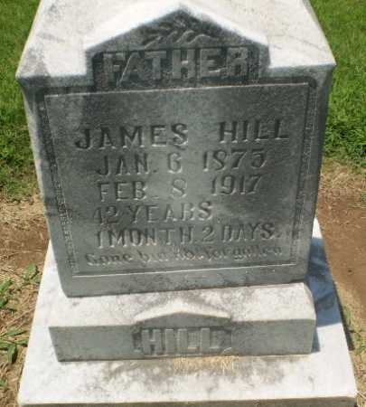 HILL, JAMES - Clay County, Arkansas | JAMES HILL - Arkansas Gravestone Photos