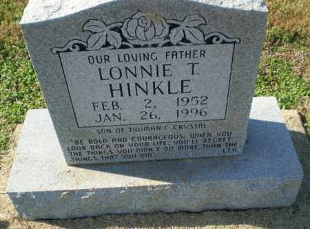 HINKLE, LONNIE T - Clay County, Arkansas | LONNIE T HINKLE - Arkansas Gravestone Photos