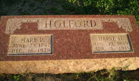 HOLFORD, HARVE H - Clay County, Arkansas | HARVE H HOLFORD - Arkansas Gravestone Photos