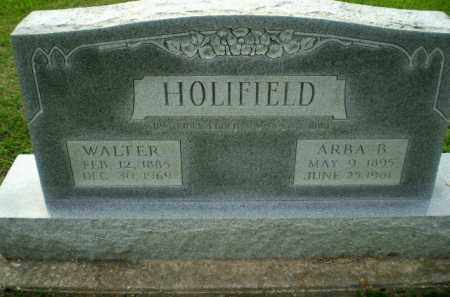 HOLIFIELD, WALTER - Clay County, Arkansas | WALTER HOLIFIELD - Arkansas Gravestone Photos
