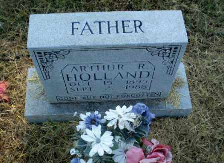 HOLLAND, ARTHUR R - Clay County, Arkansas | ARTHUR R HOLLAND - Arkansas Gravestone Photos
