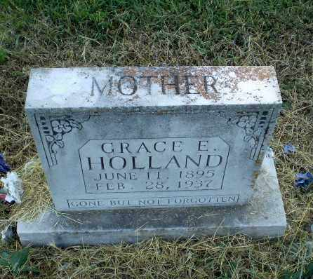 HOLLAND, GRACE E - Clay County, Arkansas | GRACE E HOLLAND - Arkansas Gravestone Photos