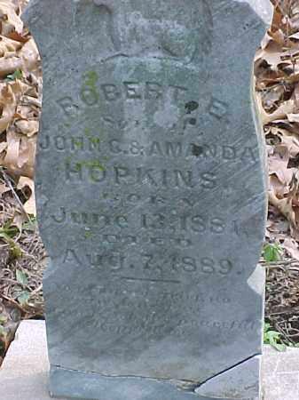 HOPKINS, ROBERT E. - Clay County, Arkansas | ROBERT E. HOPKINS - Arkansas Gravestone Photos