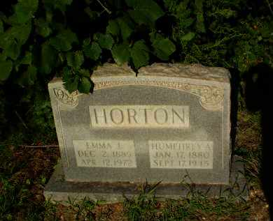 HORTON, EMMA L - Clay County, Arkansas | EMMA L HORTON - Arkansas Gravestone Photos
