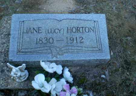 LUCY HORTON, JANE - Clay County, Arkansas | JANE LUCY HORTON - Arkansas Gravestone Photos