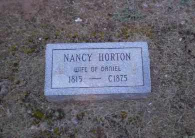 HORTON, NANCY - Clay County, Arkansas | NANCY HORTON - Arkansas Gravestone Photos