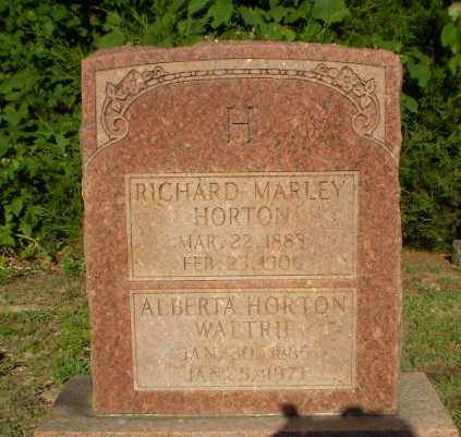 WALTRIP, ALBERTA HORTON - Clay County, Arkansas | ALBERTA HORTON WALTRIP - Arkansas Gravestone Photos