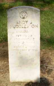 HUDDLESTON (VETERAN WWI), ANDY - Clay County, Arkansas | ANDY HUDDLESTON (VETERAN WWI) - Arkansas Gravestone Photos