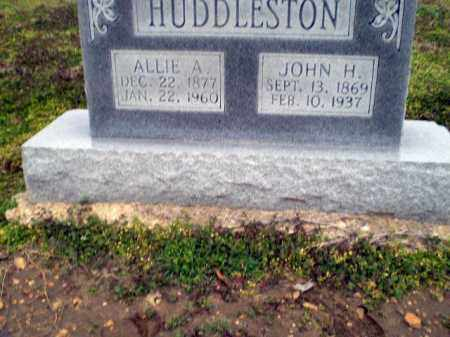 HUDDLESTON, ALLIE A. - Clay County, Arkansas | ALLIE A. HUDDLESTON - Arkansas Gravestone Photos