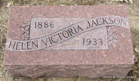 JACKSON, HELEN VICTORIA - Clay County, Arkansas | HELEN VICTORIA JACKSON - Arkansas Gravestone Photos
