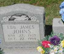 JOHNS, EBB JAMES - Clay County, Arkansas | EBB JAMES JOHNS - Arkansas Gravestone Photos