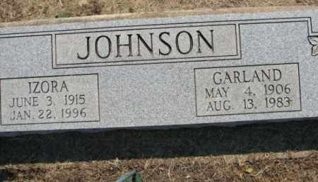 JOHNSON, IZORA - Clay County, Arkansas | IZORA JOHNSON - Arkansas Gravestone Photos